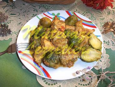 Brüksel Lahanalı Tavuk Goğsü (fotoğraf)