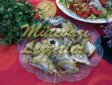 Poached peces sin agua además