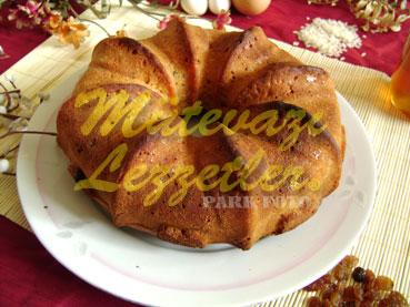 Ballı Pirinçli Kek (fotoğraf)