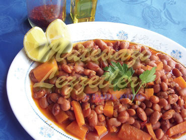 Kidney Beans With Olive Oil