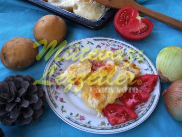 Başamelli Patates (fotoğraf)