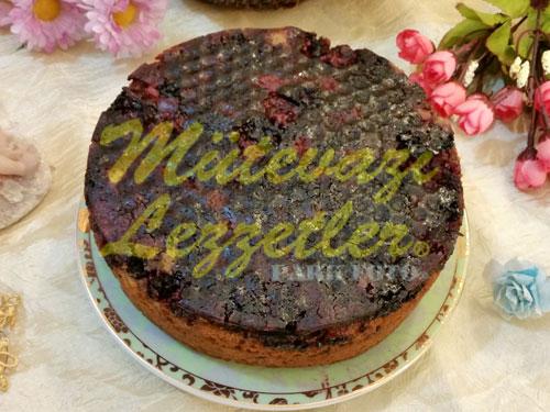 Böğürtlenli Kek (fotoğraf)