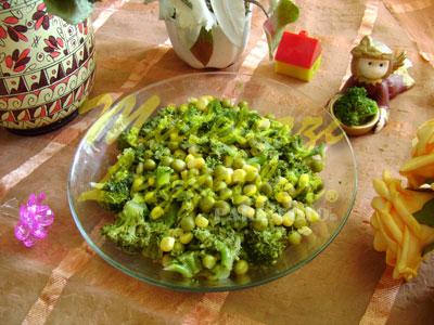 Brokoli Salatası (fotoğraf)