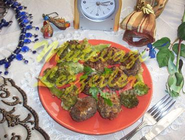 Brokolili Köfte (fotoğraf)