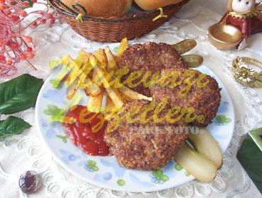 Bulgurlu Burger (fotoğraf)