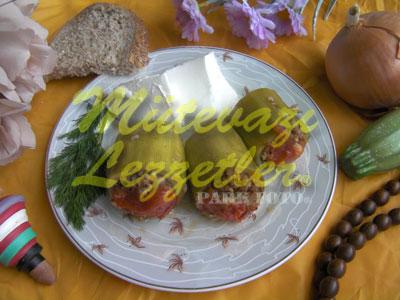 Bulgurlu Kabak Dolması (fotoğraf)
