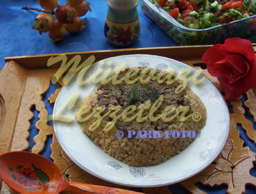 Bulgur Pilaf with Liver