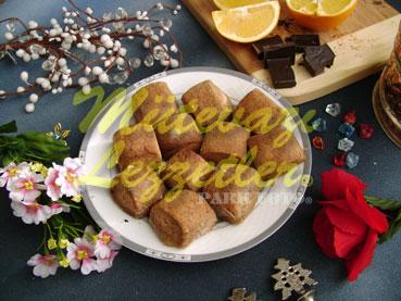 Çikolatalı Portakallı Kurabiye (fotoğraf)