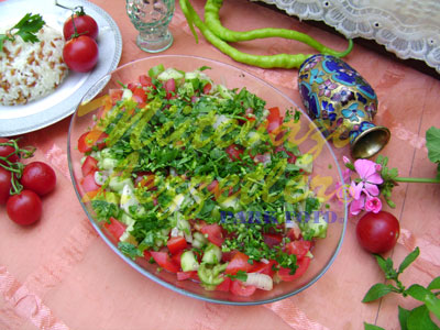 Çoban Salata (fotoğraf)