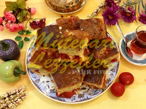 Domatesli Kek (fotoğraf)