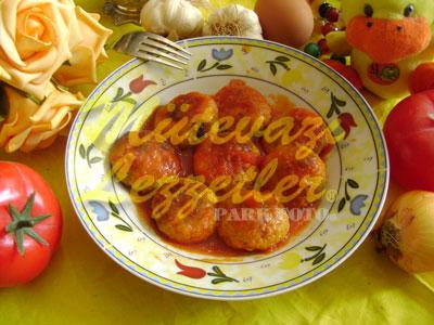 Polpetta di Pollo al Pomodoro