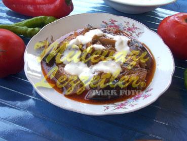 Domatesli Yoğurtlu Patlıcan (fotoğraf)