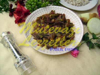 Düdüklüde Koruklu Bamya (fotoğraf)