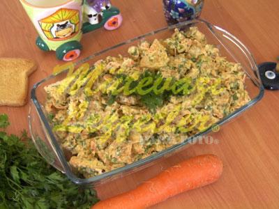 Ekmek Salatası (fotoğraf)