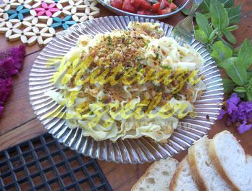 Ekmekli Makarna (fotoğraf)