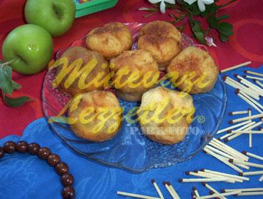 Postre masa con manzana