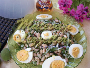 White Bean Salad with Onion