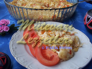 Baked Pilaf with Tomato