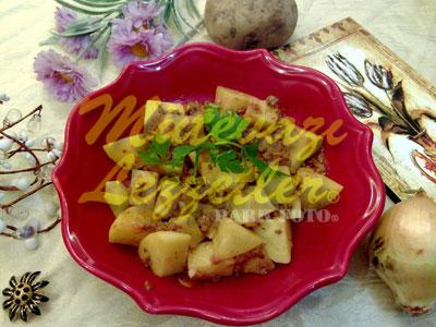 Fırında Kıymalı Patates (fotoğraf)