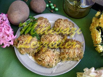 Fırında Patatesli Köfte (fotoğraf)