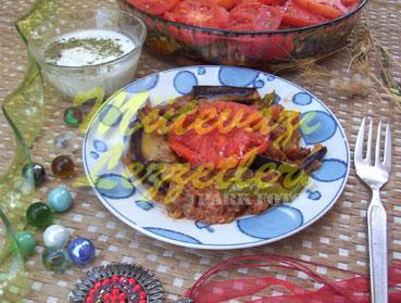 Fırında Patlıcan (fotoğraf)