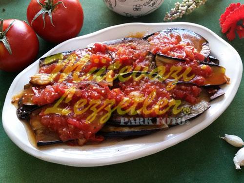 Fırında Patlıcan Kızartması (fotoğraf)