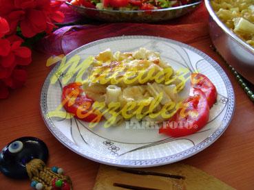 Fırında Peynirli Makarna (fotoğraf)
