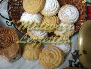 Печенье с Манкой –Геребичь
