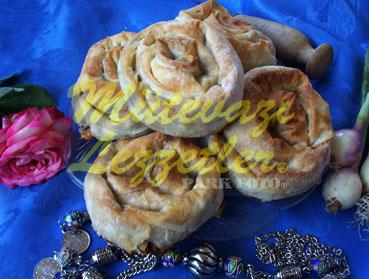 Пирог - Роза (с Грибами)