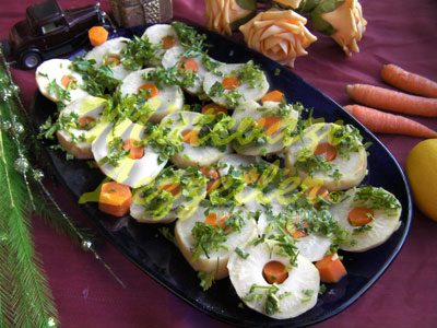Havuçlu Kereviz Salatası (fotoğraf)