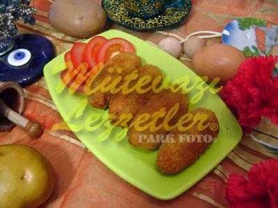 Ýçli Patates Köftesi (fotoðraf)