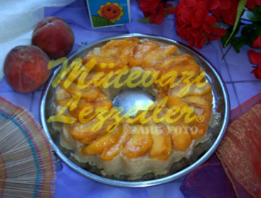 Dessert De Pêche A la Semoule