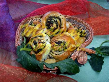 Ispanaklı Çörek (fotoğraf)