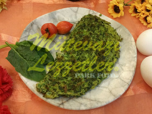 Ispanaklı Omlet (fotoğraf)