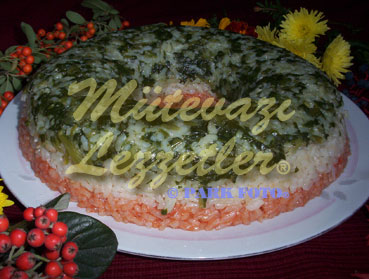 Pilaf with Spinach