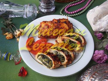 Ispanaklı Tavuk Sarması (fotoğraf)
