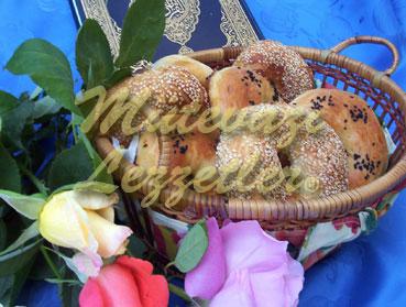 Pasty anillos servido en días santos