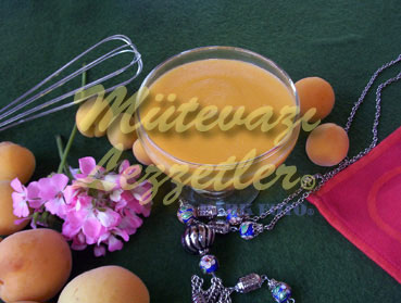 Milk Pudding with Apricots