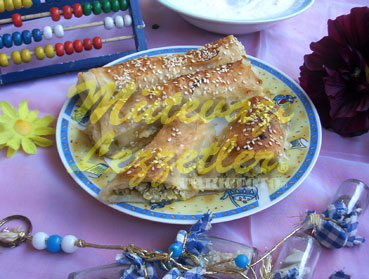 Borek with Zucchini Filling