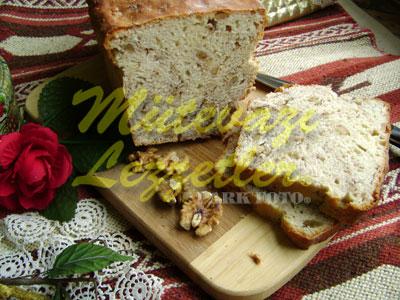 Kalıpta Cevizli Ekmek (fotoğraf)