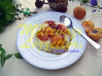 Karamelli Kayısılı Muhallebi (fotoğraf)