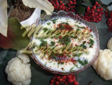 Karnabahar Çorbası (fotoğraf)