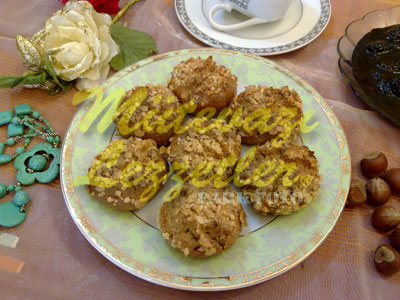 Печенье из пшенично-отрубной муки