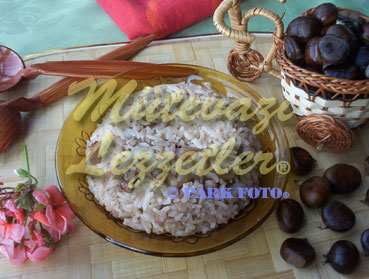 Pilaf with Chestnut