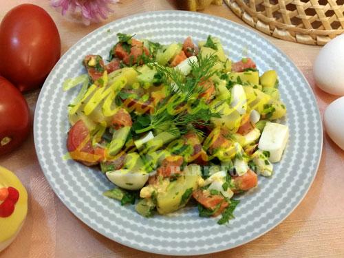 Keyif Salatası (fotoğraf)