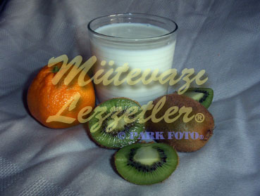 Kivi Mandalina Süt (fotoğraf)