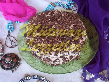 Легкий шоколадный торт