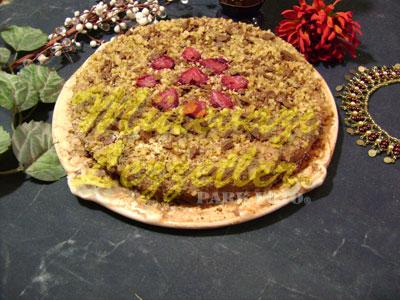 Kolay Çilekli Pasta (fotoğraf)