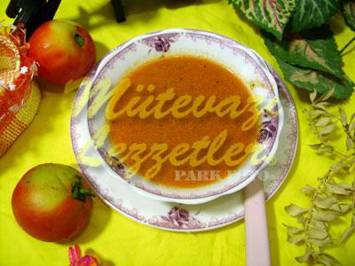 Kolay Domates Çorbası (fotoğraf)