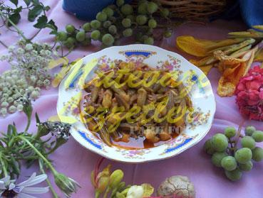 Koruklu Bamya (fotoðraf)